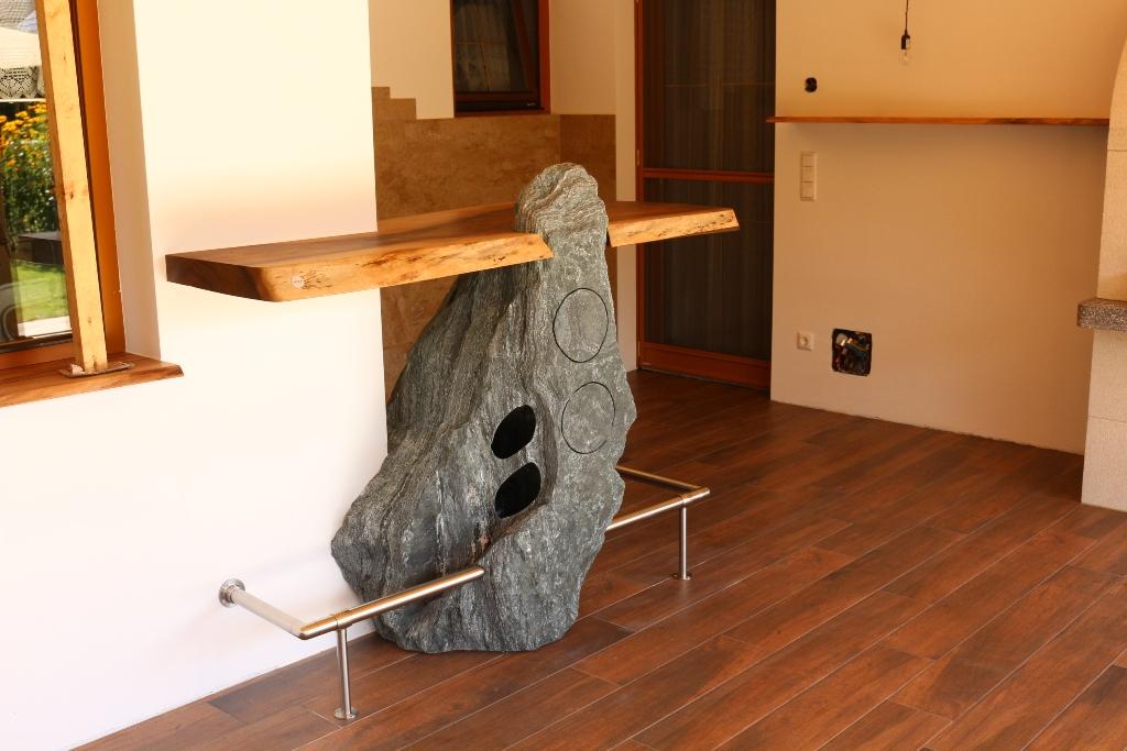 NatursteinBar woone by SteinWerk Leeb7