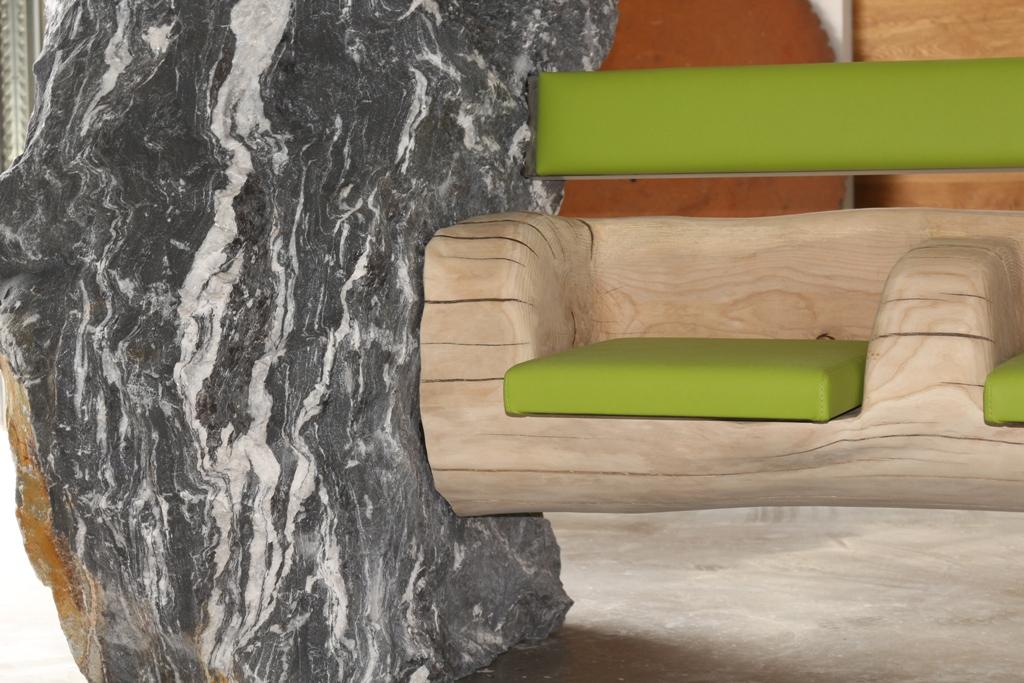original stein werk gartenbank stein werk. Black Bedroom Furniture Sets. Home Design Ideas