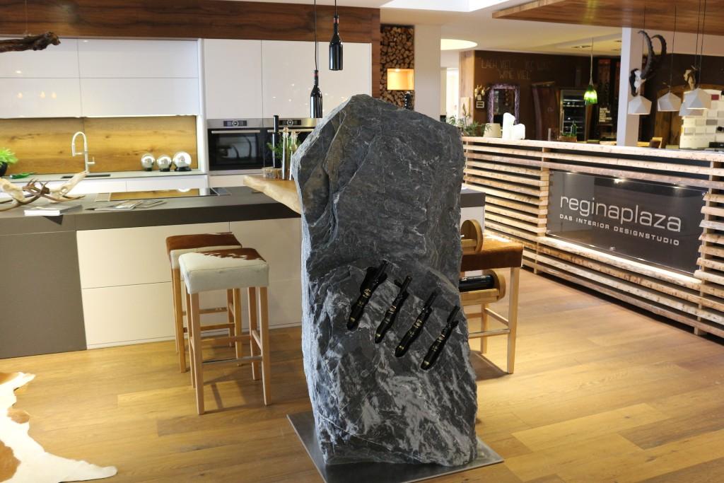 Moderne Küchen mit Naturstein Bar! | STEIN:WERK