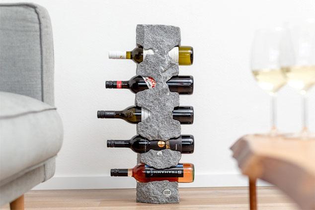 Steinwerk Weinständer